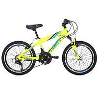 Подростковый спортивный велосипед  20 дюймов PROFI GW20 PLAYFUL A20.1 оборудование Shimano ***