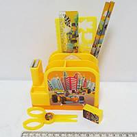 Набор настольный детский 8 предметов 9155-1 Машинки