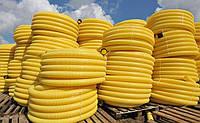 Труба дренажная 100 гофрированная с перфорацией (бухта 50м)