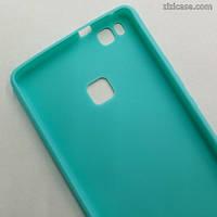 Силиконовый матовый чехол для Huawei Honor P9 Lite (мятный)