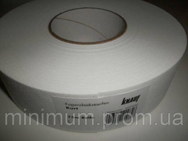 КУРТ KNAUF стрічка для швів паперова 50 мм рулон 75 м ORIGINAL