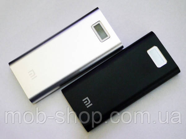 Повер банк Power Bank Xiaomi 28800 mAh 2 USB+LCD-экран Металл