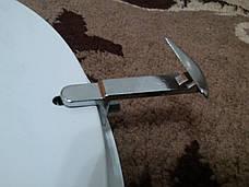 Светильник потолочный накладной диаметр 25 см Мрамор-золото под одну лампу, фото 3