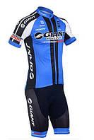 Велоформа Giant 2013 v1 blue bib