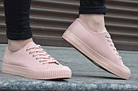"""Кеды, кроссовки женские в стиле Adidas адидас цвет """"пудра"""" 2017. Топ"""