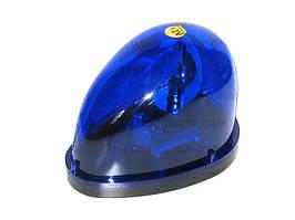 Мигалка  капелька KJ-301 12V синяя в прикуриватель (шт.)
