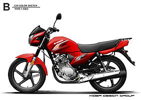 Мотоцикл JIANSHE-YAMAHA JYM150