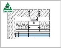 Крепления Vibrofix для звукоизоляции потолка