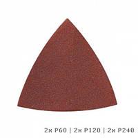 Шлифовальный лист DREMEL® Multi-Max для дерева (P60, P120 и P240) (6шт)