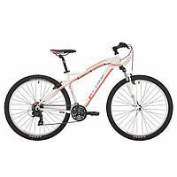 """Велосипед 27,5"""" Pride Roxy 7.1 рама - 16"""" белый/коралловый/бирюзовый 2017"""