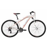 """Велосипед 27,5"""" Pride Roxy 7.1 рама - 18"""" белый/коралловый/бирюзовый 2017"""