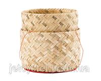 Бамбуковая корзинка-пароварка для риса 13см