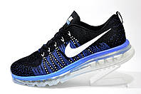Кроссовки мужские Nike Flyknit Air Max, Dark Blue\Black