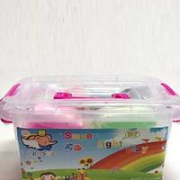 Тесто для лепки Детский пластилин Super Light Clay Niboshi 5D 24 цветов