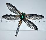 Брошь - стрекоза, фото 2