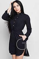 Трикотажное Платье-рубашка NIECE Размеры 44- 48