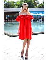 Летнее женское платье с воланами. Миди платье на все случаи жизни. Стильно и ярко. Разные цвета, размеры.