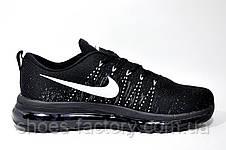 Кроссовки мужские в стиле Nike Flyknit Air Max, Black, фото 3