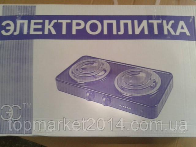 ЭЛЕКТРОПЛИТА (СПИРАЛЬНАЯ) - 200 (2 узких тэна) (ЭЛНА)