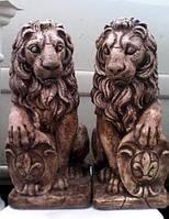 Скульптура Львы из бетона 40 см и 50 см