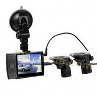 Автомобильный видеорегистратор S3000 A + 2 камеры-присоски