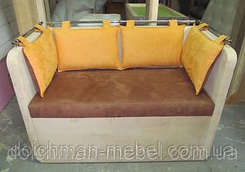 Небольшой диванчик для кухни в нишу по индивидуальным размерам