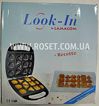 Прилад для випічки печива - Look-in Lamacom (Мадлен)