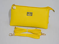 Клатч молодежный цвет желтый, фото 1