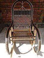 Кресло  качалка ротанг