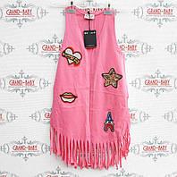 Детская стильная жилетка  для  девочки.Турция