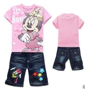 Літні костюмчики для дівчаток