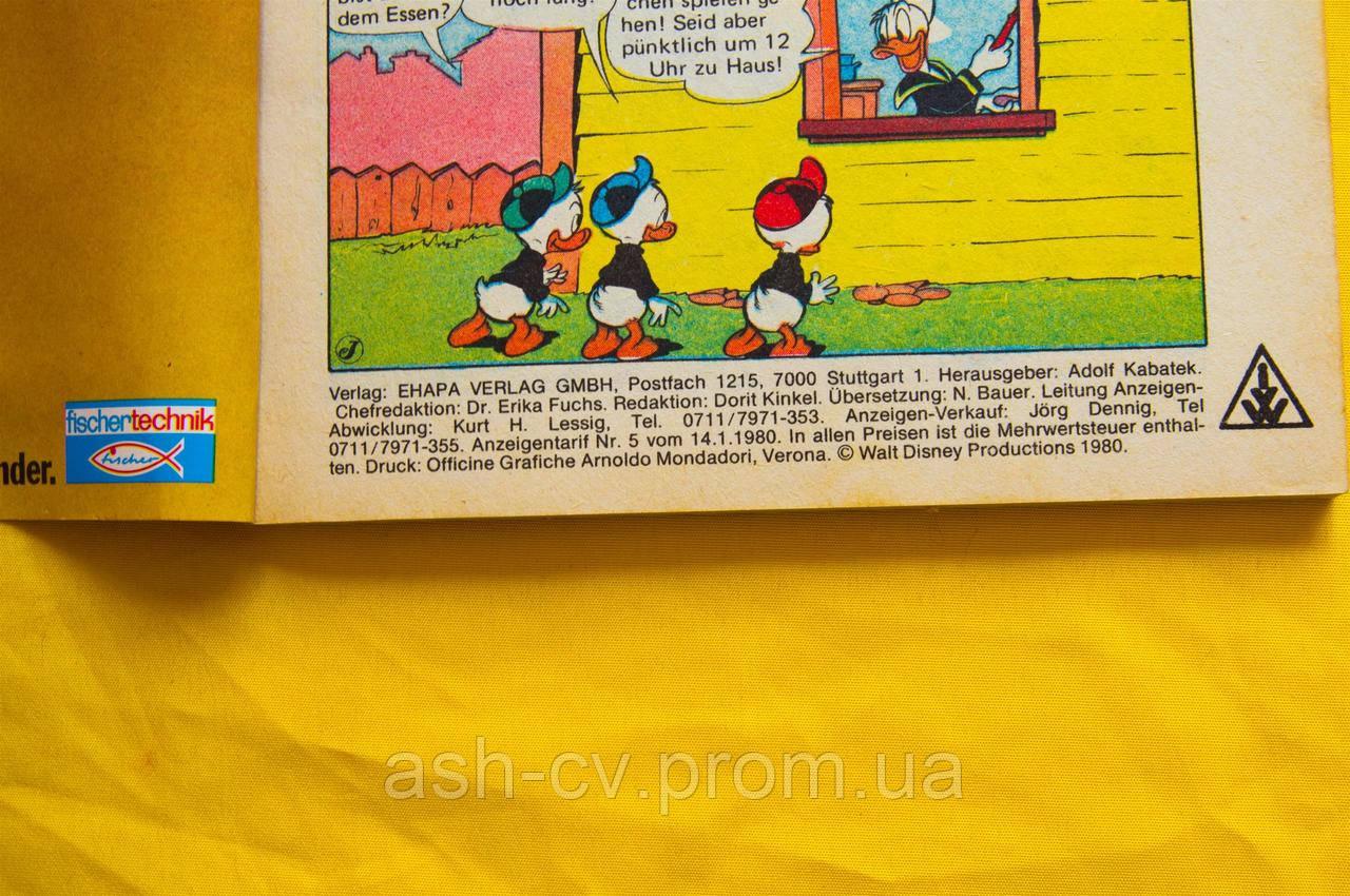 журнал Walt Disney Donald Duck 129 1980 цена 95 грн купить в