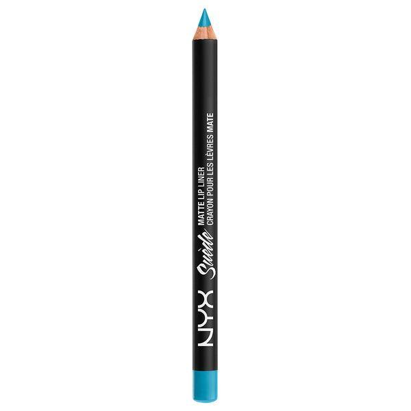 NYX SMLL 16 Suede Matte Lip Liner Little Denim Dress - Замшевый карандаш для губ, 1.13 г