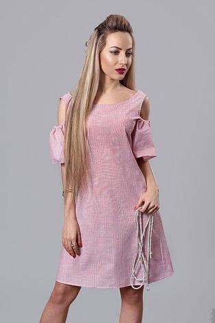 Свободное летнее платье с вырезами, фото 2