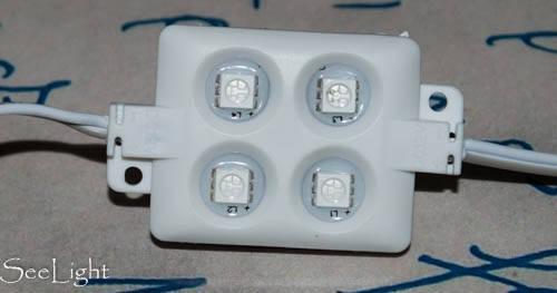 Светодиодный модуль 12T5533R4B Красный, фото 2