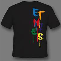 Печать лого на футболках