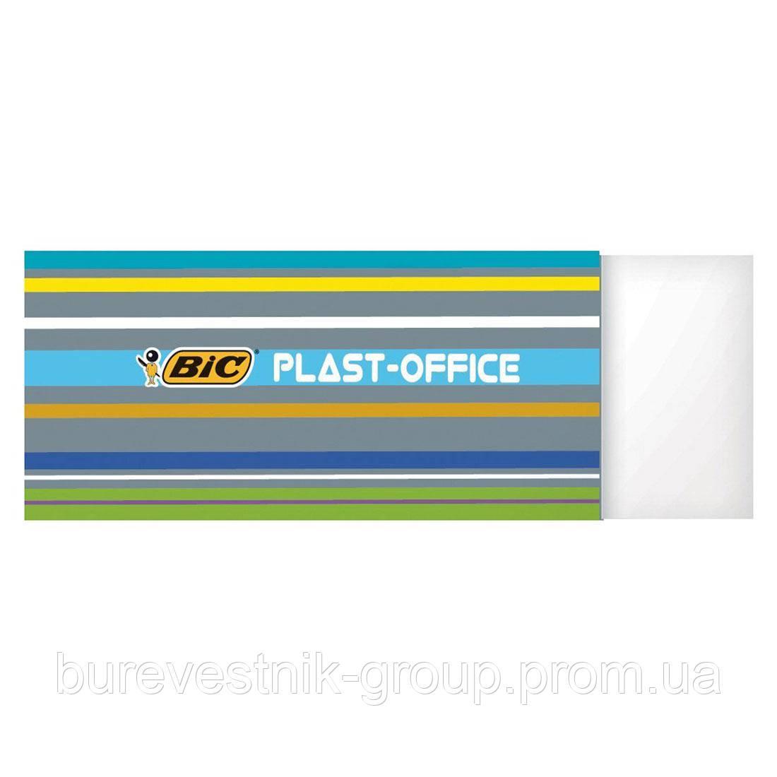 """Ластик ( стирательная резинка, ERASER ) Bic """" Plast-Office """""""