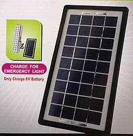 Зарядное устройство на солнечных элементах solar panel gd-light mp-003wp, для зарядки цифровых гаджетов