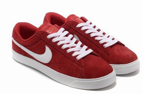 Кеды Nike Blazer Low Red Красные мужские