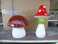 Садовая фигура гриб мухомор
