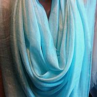 Палантин -шарф однотонный разных цветов