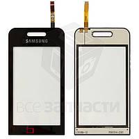 Сенсорный экран для мобильных телефонов Samsung S5230 TV, черный, Logo TV