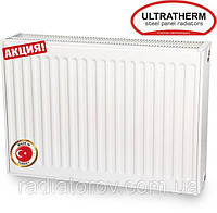 Стальные радиаторы Ultratherm 22 тип 500/1400 нижнее/боковое подключение, Турция