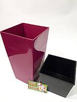 Цветочный Горшок Urbi Square 14см, фото 1