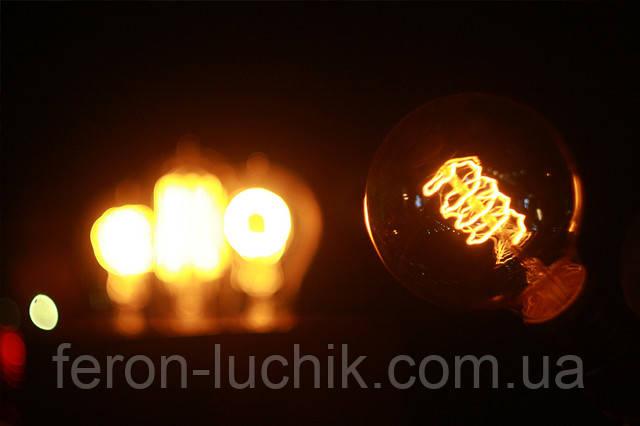 Декоративная оригинальная лампа Эдисона - модель G95. Подробности на сайте