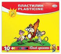 "Пластилин Гамма ""Юный художник"" 10цв."
