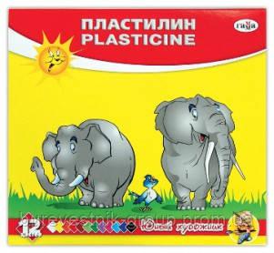 "Пластилин Гамма ""Юный художник"" 12цв."