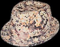 Шляпа цветочная летняя трилби Гармония