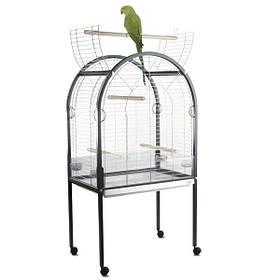 АЙМАК АМАНДА клетка для крупных попугаев, пластик, хром