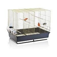АЙМАК ТАША клетка для канареек и попугаев, пластик, латунь
